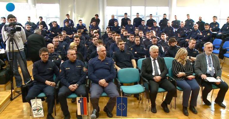 26. generacija poklicnih gasilcev pričela z usposabljanjem