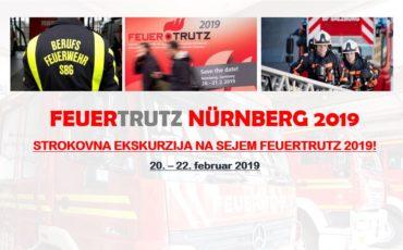 Program strokovne ekskurzije na sejem FEUERTRUTZ 2019