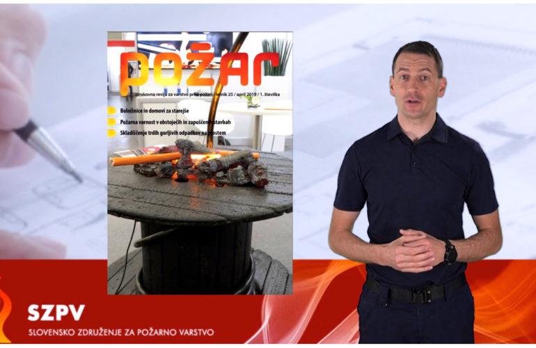 Izšla je nova številka revije Požar (april 2019)