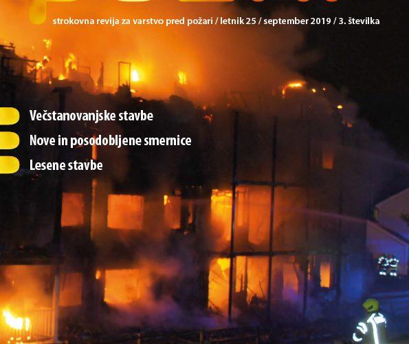 Izšla je nova številka revije Požar (št. 3, september)
