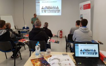 Usposabljanje tujcev za požarnovarno izvajanje vročih del