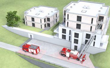 """Vabilo na seminar z delavnico """"Načrtovanje površin za gasilce ob stavbah"""""""