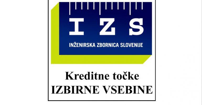 Priznane kreditne točke za člane IZS za izbirne vsebine