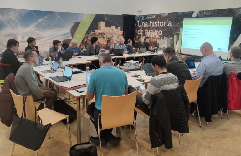 Uvodni sestanek za projekt Reševanje funkcionalno oviranih