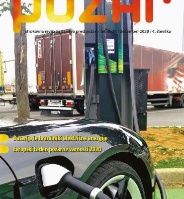 Izšla je nova številka revije Požar (december 2020)