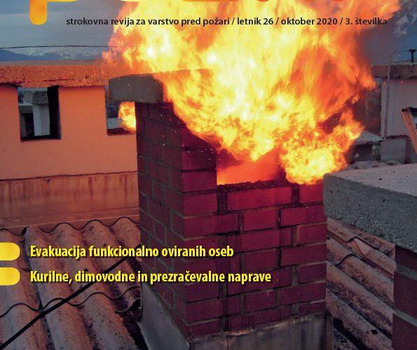 Izšla je nova številka revije Požar (oktober 2020)