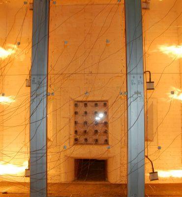 Predstavitev Materiali in gradbene konstrukcije v ognju požara v okviru prireditev Noč raziskovalcev