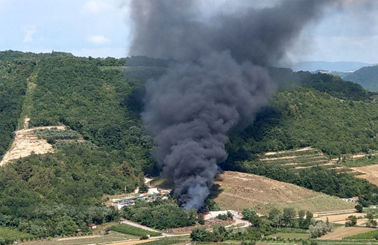 Požarna varnost na odlagališčih odpadkov - VAL 202, oddaja Kje pa vas čevelj žuli